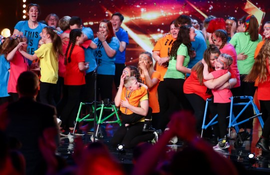 STRICT EMBARGO - NO USE BEFORE 21:25BST SATURDAY 11TH APRIL 2020 - Editorial Use Only. No Book Publishing. Mandatory Credit: Photo by Dymond/Thames/Syco/REX (10608214a) Sign Along with Us 'Britain's Got Talent' TV Show, Series 14, Episode 1, UK - 11 Apr 2020