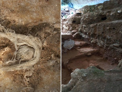 Oldest piece of string found in Neanderthal dwelling