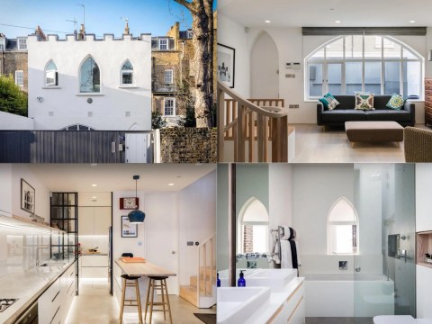 Gorgeous three-bedroom house described as 'the most romantic building in London' goes on sale for £2.95million