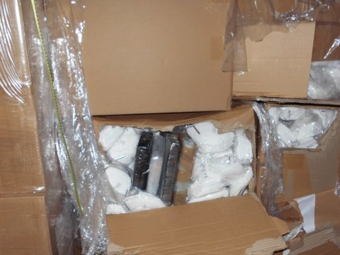 Smugglers stash £1,000,000 of cocaine in face masks headed to UK