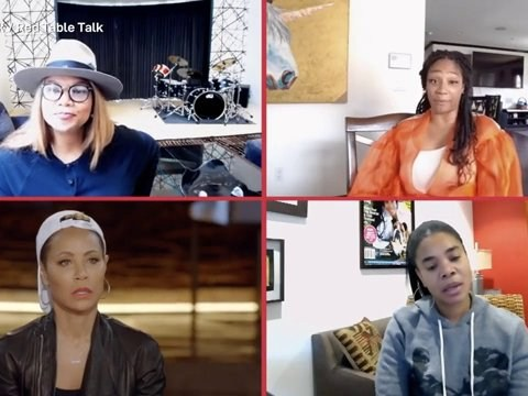 Jada Pinkett-Smith reunites with Girls Trip co-stars and reveals their celebrity crushes