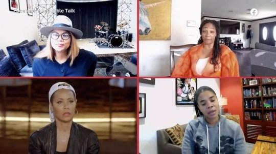Girls Trip stars reunite on Red Table Talk