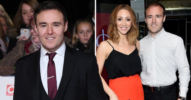 Corrie Alan Halsall with ex-wife Lucy-Jo Hudson