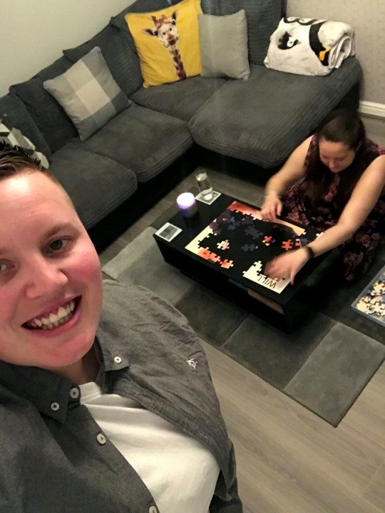 This is the adorable moment Gemma Stanley proposed to her puzzle-obsessed girlfriend Karen Ives