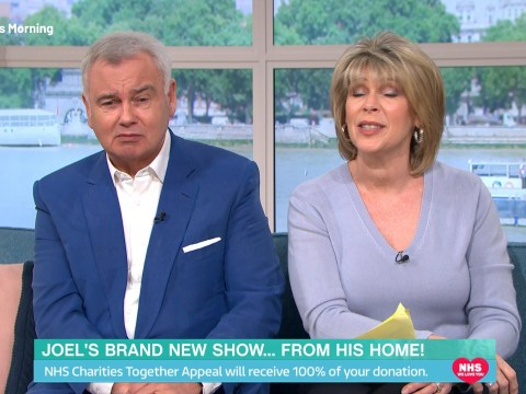 Eamonn Holmes drops This Morning bombshell as he thinks 'it won't be long' before they're forced to film from home