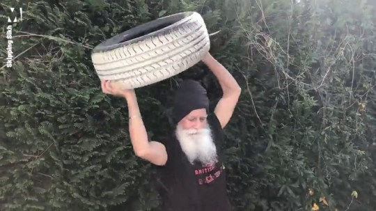 73-year-old 'Skipping Sikh' is releasing daily fitness videos to raise money for the NHS skipping sikh metrograb
