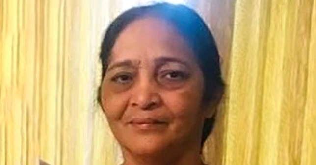 Picture of Anusuya Chandra Mohan, who has died from coronavirus