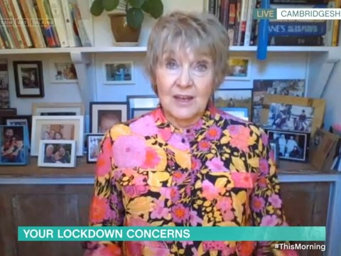 Grandmother breaks down on This Morning as she struggles in lockdown: 'I can't do this anymore'