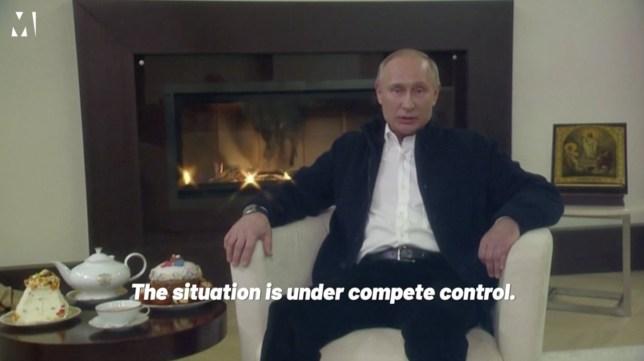 Putin says Russia has coronavirus under control