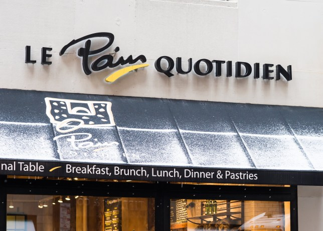 Le Pain Quotidien store sign in Philadelphia, PA