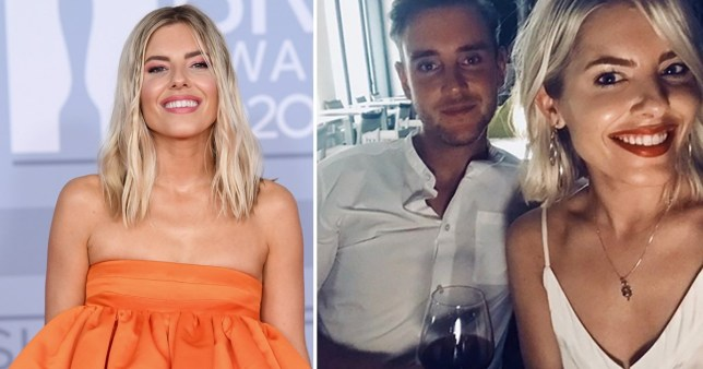 Mollie King and Stuart Broad