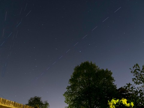 Starlink satellites will pass over the UK again tonight – here's when to see them