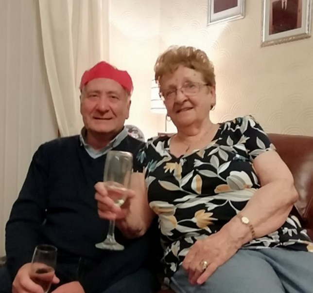 William 'Vic' Sharp and Maureen Sharp pictured together