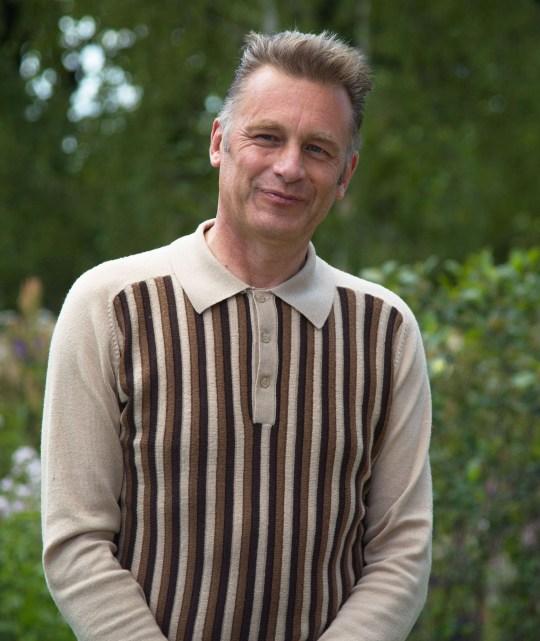 Mandatory Credit: Photo by Sandra Mailer/REX (10325348ax) Chris Packham (CBE) visits the BBC Springwatch Garden at Hampton Court Hampton Court Palace Garden Festival, London, UK - 01 Jul 2019