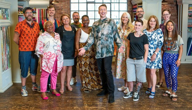 The Great British Sewing Bee cast