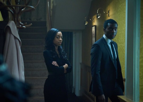 Picture: Sky Atlantic Gangs of London season 2 teased by Gareth Evans: How will Sean Wallace thriller move forward after that ending? Pictured: Pippa Bennett-Warner
