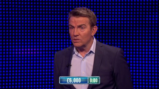 The Chase viewers were fuming with Bradley Walsh (Picture: ITV)