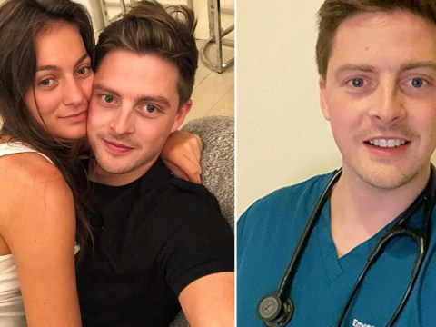 Dr Alex George struggling to isolate away from girlfriend as he works coronavirus frontline