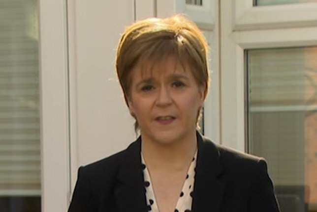 Grabs: sturgeon on marr