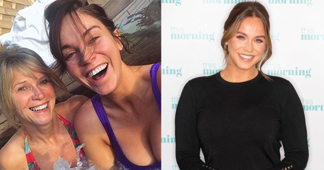 Vicky Pattison and her mother Caroll