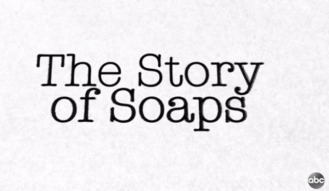 the logo for the story of soaps