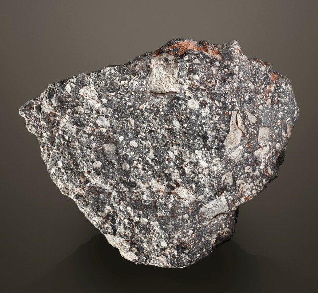 An undated picture shows a moon rock in unknown location. CHRISTIE'S IMAGES LTD/Handout via REUTERS THIS IMAGE HAS BEEN SUPPLIED BY A THIRD PARTY. EDITORIAL USE ONLY. MANDATORY CREDIT. NO RESALES. NO ARCHIVES. NO NEW USAGE AFTER MAY 12, 2020.