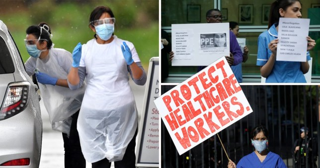 Hospitals told to provide more protection for BAME workers as they're at higher risk