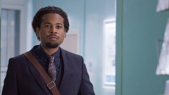 Xavier in Holby City