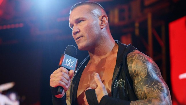 WWE superstar Randy Orton on Raw April 2020