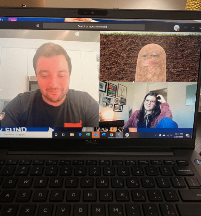 Photo of video conference call