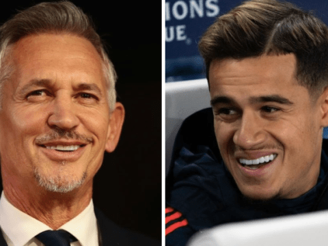 Gary Lineker reacts to 'nonsense' rumours Chelsea have been offered Philippe Coutinho