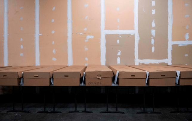 Photo of bodies at Maryland crematorium