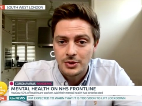 Love Island's Dr Alex George urges NHS staff to seek help for mental health strain during coronavirus as he leaves shifts in tears
