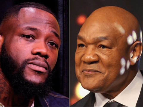 What George Foreman told Deontay Wilder after Bronze Bomber accepted training offer