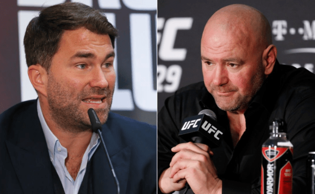 Eddie Hearn and Dana White