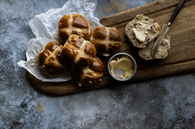 bread ahead hot cross buns