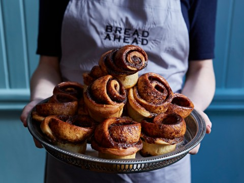 Bake cinnamon buns at home with this recipe from Bread Ahead