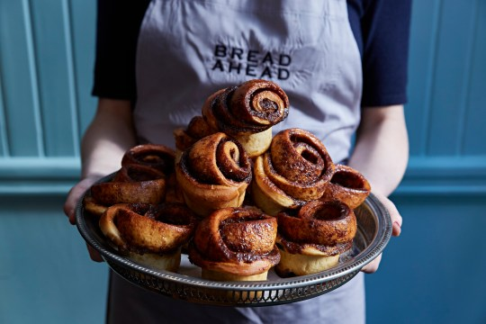 Bread Ahead cinnamon buns