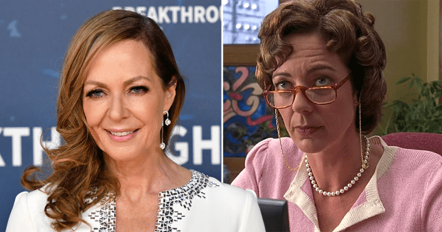 Allison Janney forgets she's in 10 Things I Hate About You