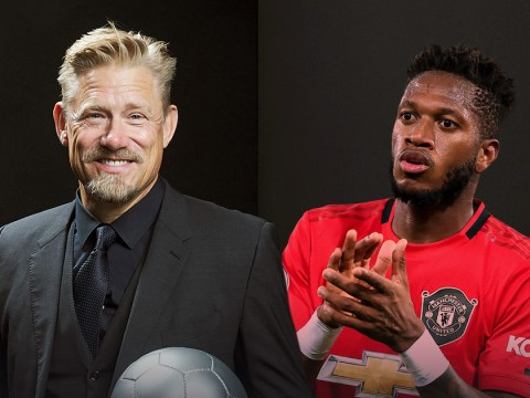 Fred pays tribute to Peter Schmeichel as Manchester United legend names Brazilian as club's Player of the Year