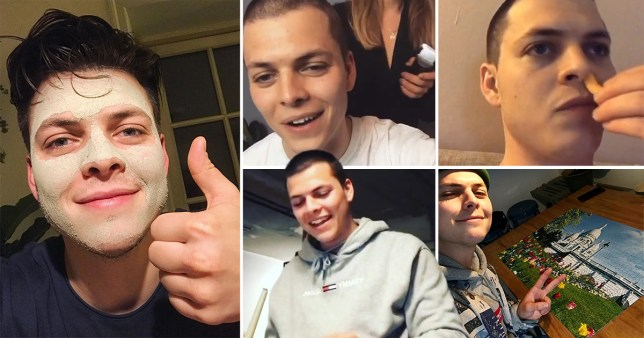 Vikings star Alex Høgh Andersen shares qurantine highlights and they're way to relatable