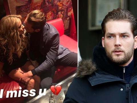 Lewis Burton missing Caroline Flack as he shares heartbreaking photo after Love Island star's death