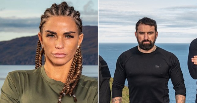 Ant MIddelton and Katie Price