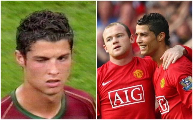 Wayne Rooney says he had no issue with Cristiano Ronaldo's wink