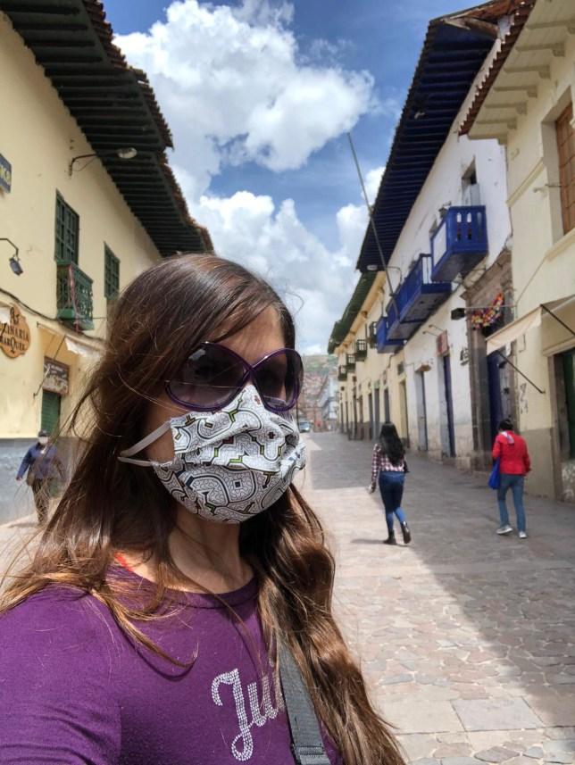 Ann-Louise Holland is in lockdown in Peru