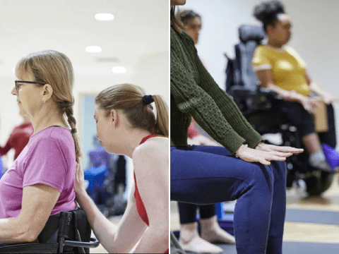 Online 'adaptive yoga' classes are making sure people with disabilities aren't forgotten in lockdown