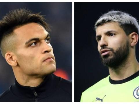 Chelsea and Barcelona target Lautaro Martinez labelled 'new Sergio Aguero' by Hernan Crespo