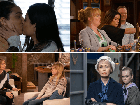 12 soap spoilers pictures: EastEnders discovery, Coronation Street pub takeover, Emmerdale arrival, Hollyoaks threat