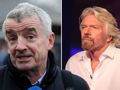 Branson accused of 'fleecing' the taxpayer by Ryanair boss
