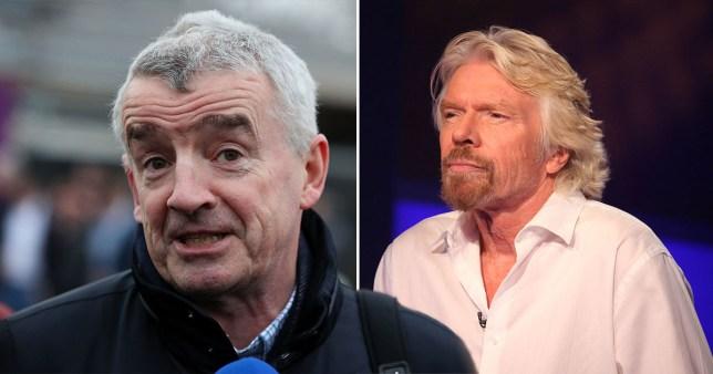 Branson vs O'Leary